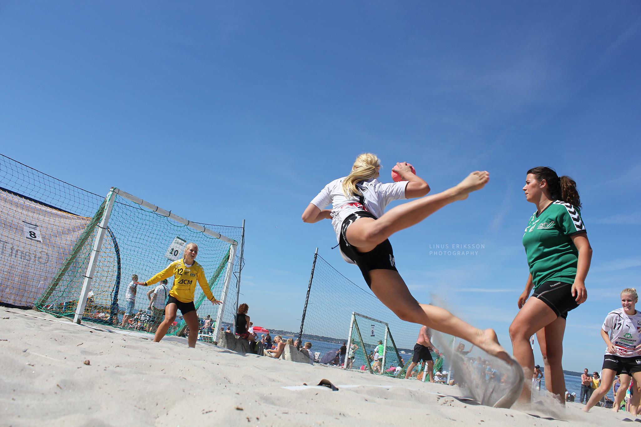 Beach handboll