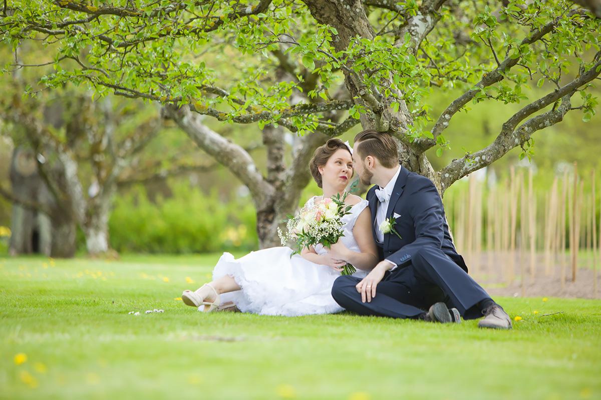 Bröllopsporträtt Sofiero