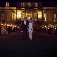Bröllopsfoto Kronovalls Vinslott